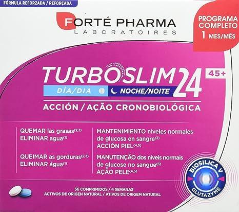 TURBOSLIM Cronoactive 45+ mujer 56 comps