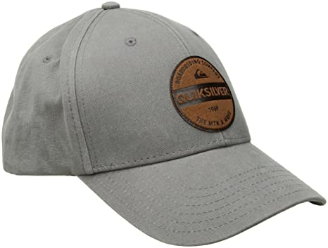 dbdcaec10 Amazon.com: Quiksilver Men's Blues Buster Hat, Medium Grey Heather ...