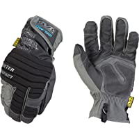 Mechanix Wear - Guantes de impacto de invierno (Medio, Negro/Gris)