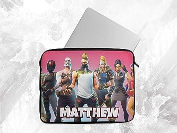 Funda Personalizada para Ordenador portátil con Cualquier Nombre de Fortnite Funda para Tableta Chromebook Gift 3: Amazon.es: Electrónica