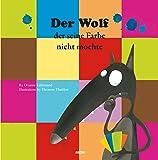 Der wolf der Seine farbe nicht mochte
