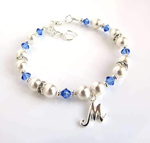 amazon com personalized girls bracelets birthstone bracelet for