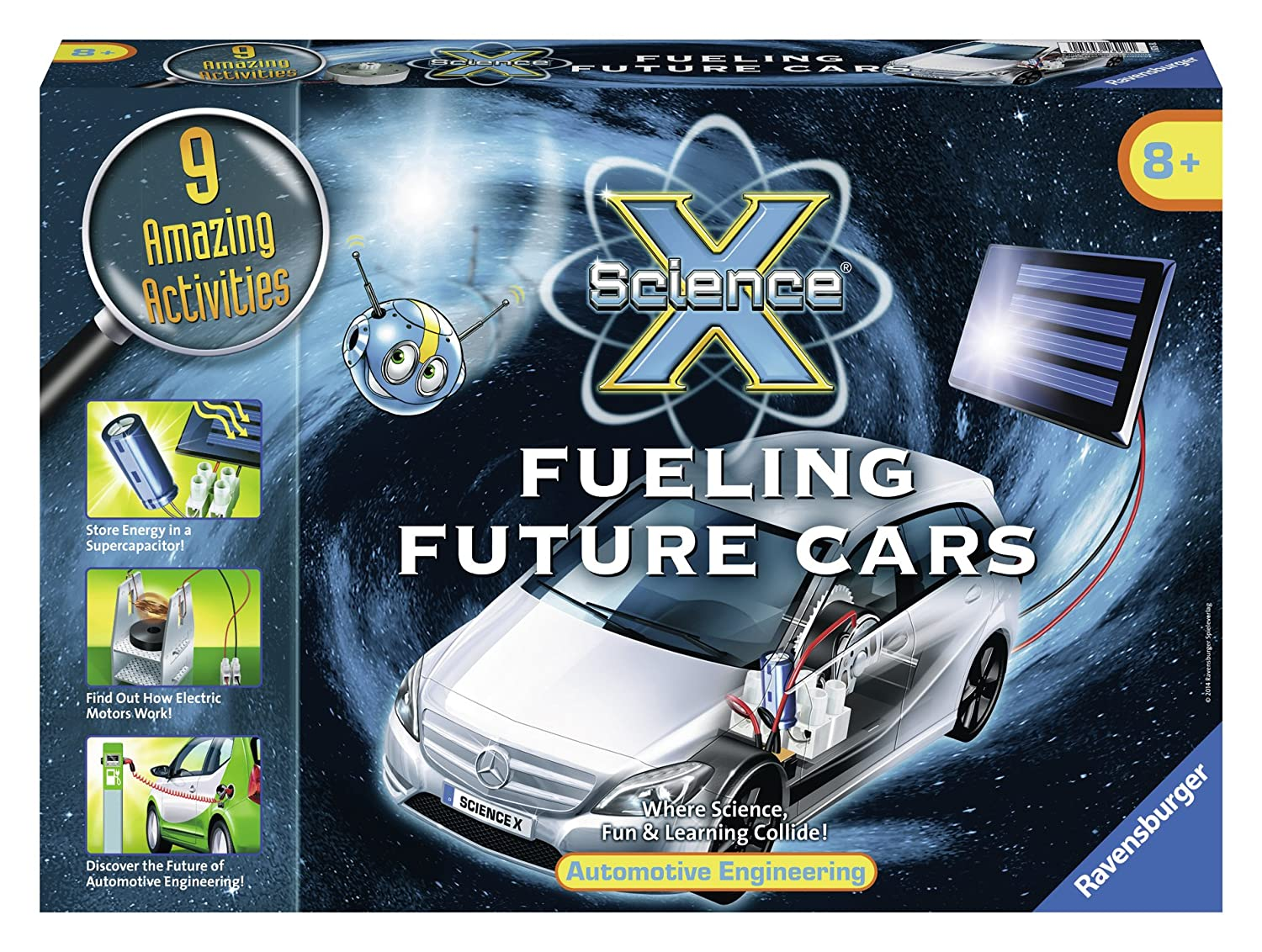 Likely cars of the future likely cars of the future http www - Amazon Com Ravensburger Science X Fueling Future Cars Science Activity Kit Toys Games