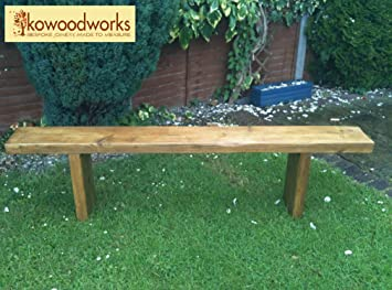 Remarkable Kowoodworks Reclaimed Solid Pine Garden Bench Seat Wooden Pdpeps Interior Chair Design Pdpepsorg