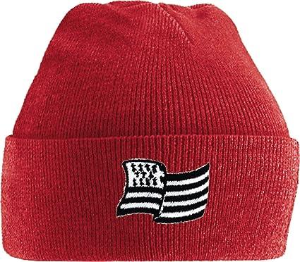 bonnet rouge breton drapeau, Rouge, tu Amazon.fr Vêtements et accessoires