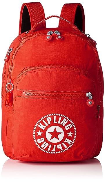 Kipling Clas Seoul Backpack - Lively Red