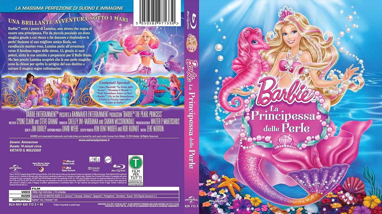 Barbie E La Principessa Delle Perle Blu Ray Amazonit Non