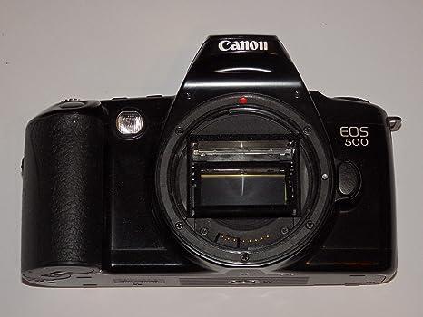 Canon EOS 500 - SLR Cámara Color: Negro - Cámara réflex analógica ...