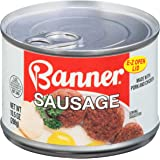 Armour Star Banner Sausage, Easy Open Can, 10.5 oz. (Pack of 12)