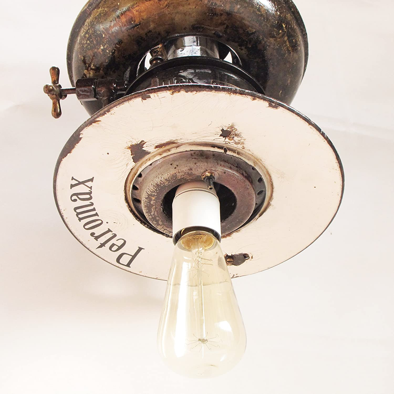 Lámpara de techo petromax. Antigua lámpara colgante. Lámpara ...