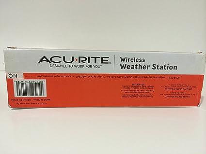 Amazon.com : AcuRite Digital Weather Station with Clock and Wireless Outdoor Sensor : Garden & Outdoor