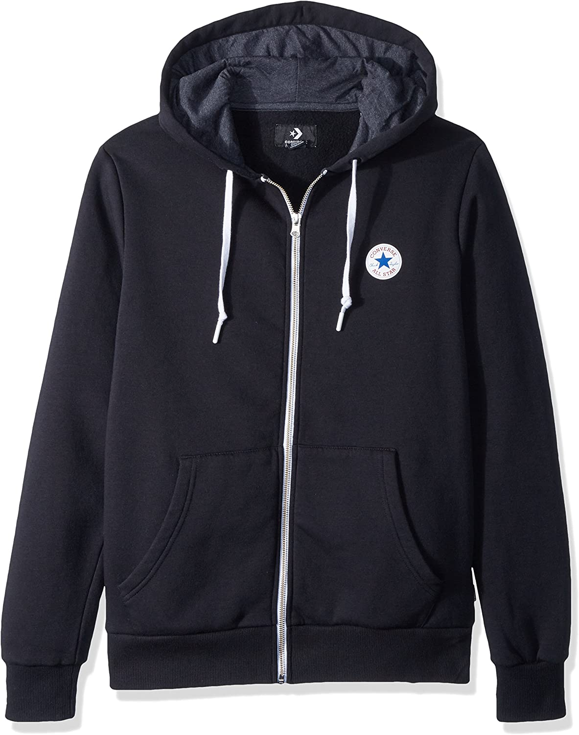 Amazon.com: Converse Men's Full Zip Hoodie: Clothing