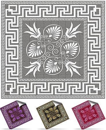 Tile Style Decals   Modell (30xNTP 04   4u0026quot;  Chrome)   Mosaik