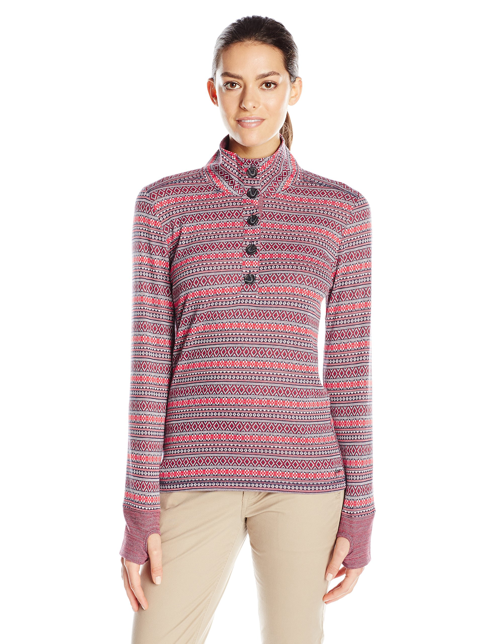 KAVU Women's Lopez Sweater, Alpine, Small by KAVU