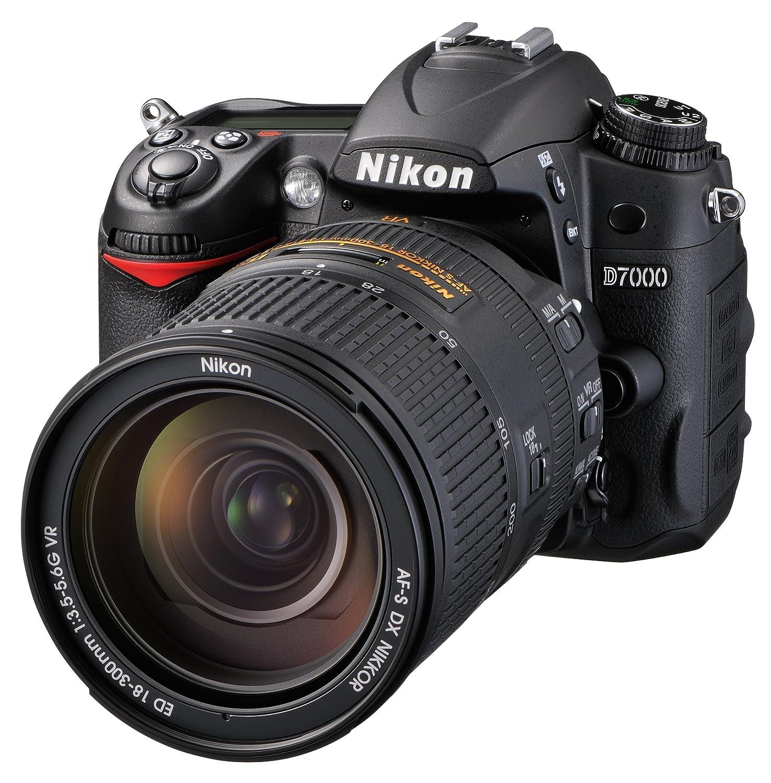 Nikon デジタル一眼レフカメラ D7000 スーパーズームキット  AF-S DX NIKKOR 18-300mm f/3.5-5.6G ED VR付属  D7000 LK18-300   B009A77NFE