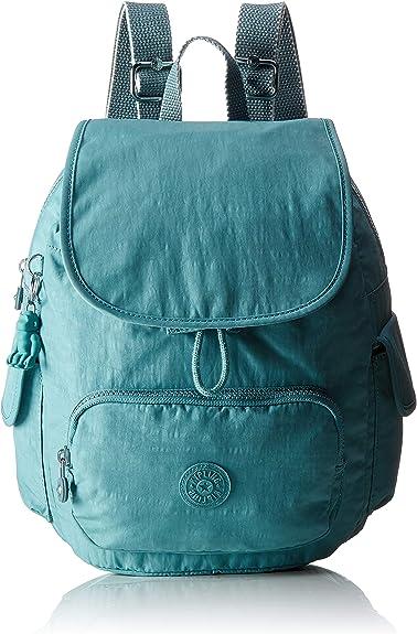 Kipling City Pack S, Mochila para Mujer, Azul (Aqua Frost), 27 x 33.5 x 19 cm: Amazon.es: Zapatos y complementos