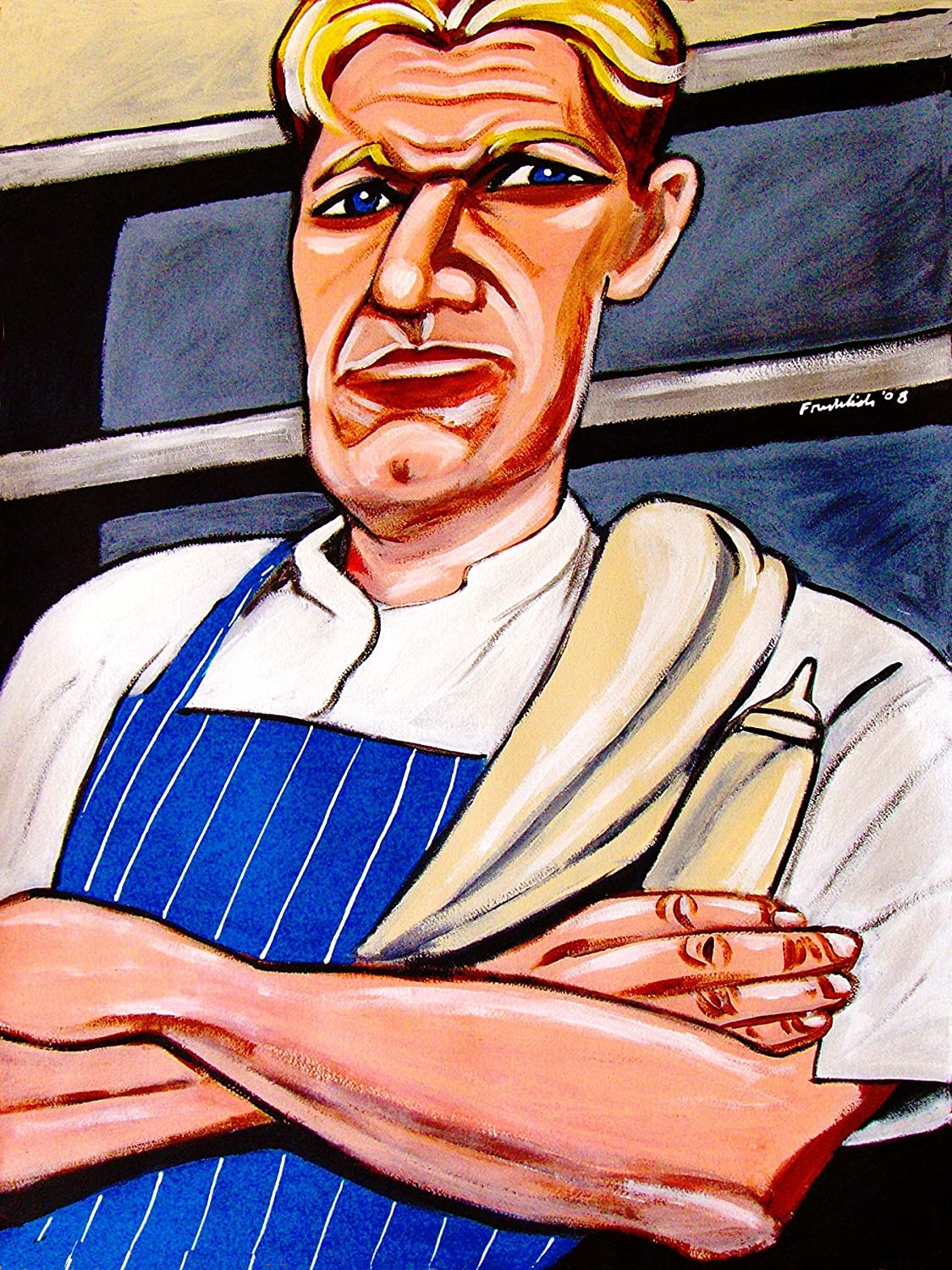 N-2279 Hours to Hell and Back TV Series Gordon Ramsay Chef Food Reality POSTER