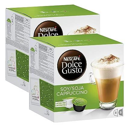 Nescafé Dolce Gusto soja capuchino, Café con leche de soja, soy Leche, libre