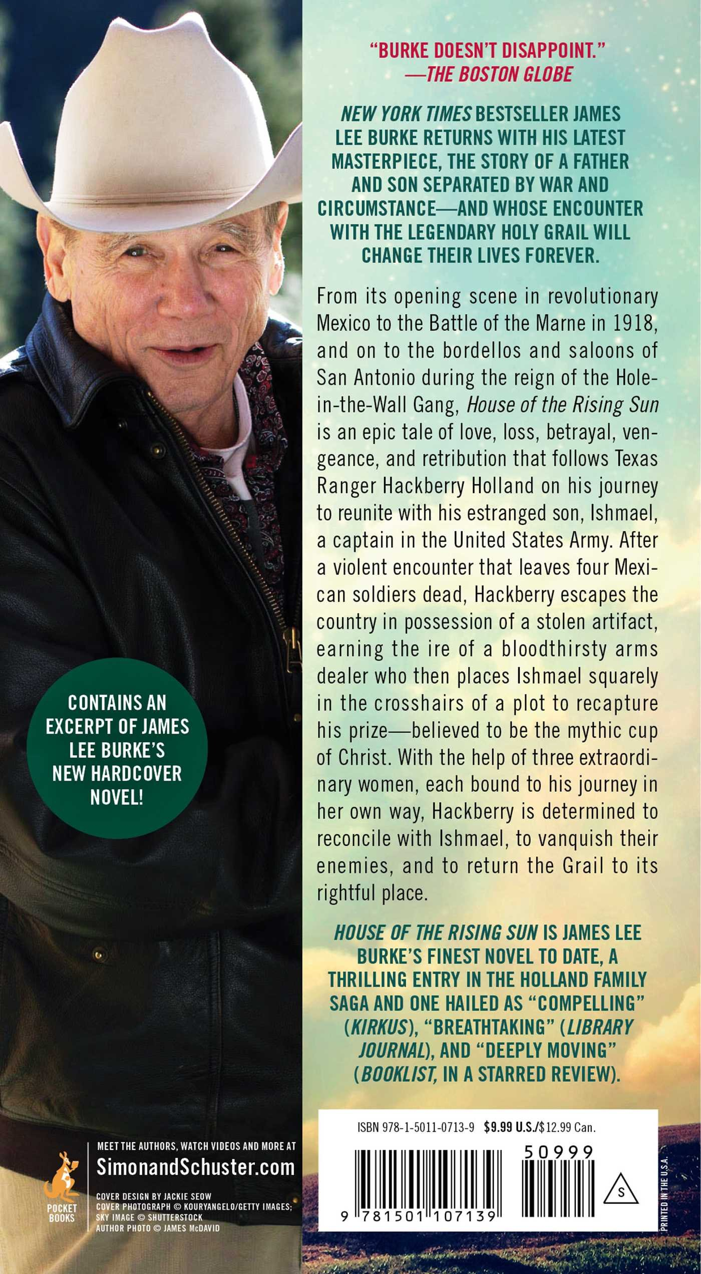 House Of The Rising Sun: A Novel (a Holland Family Novel): James Lee Burke:  9781501107139: Amazon: Books