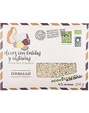 Orballo-Arroz con boletus y castañas-Ecológico-210g