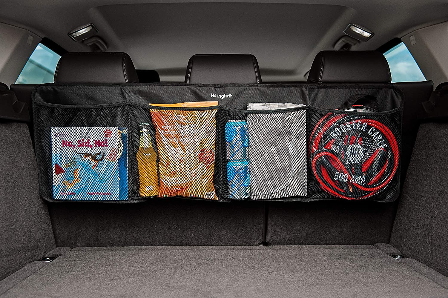 Hanging Multi Pocket Car Backseat Storage Chest Organiser//Back Seat Organiser Storage Bag//Car Seat Storage Bag Vehicle Safety Items Car Cleaning Tools Accessories Storage Fineway Car Boot Organiser