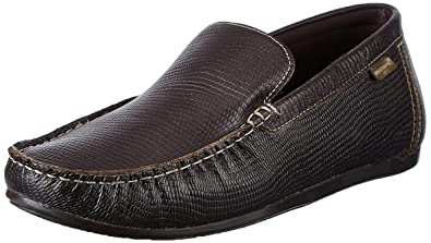 a5d5dacd8be0da Red Tape Men's Slip On Brown Leather Casual Shoes - 7 UK/India (41 ...