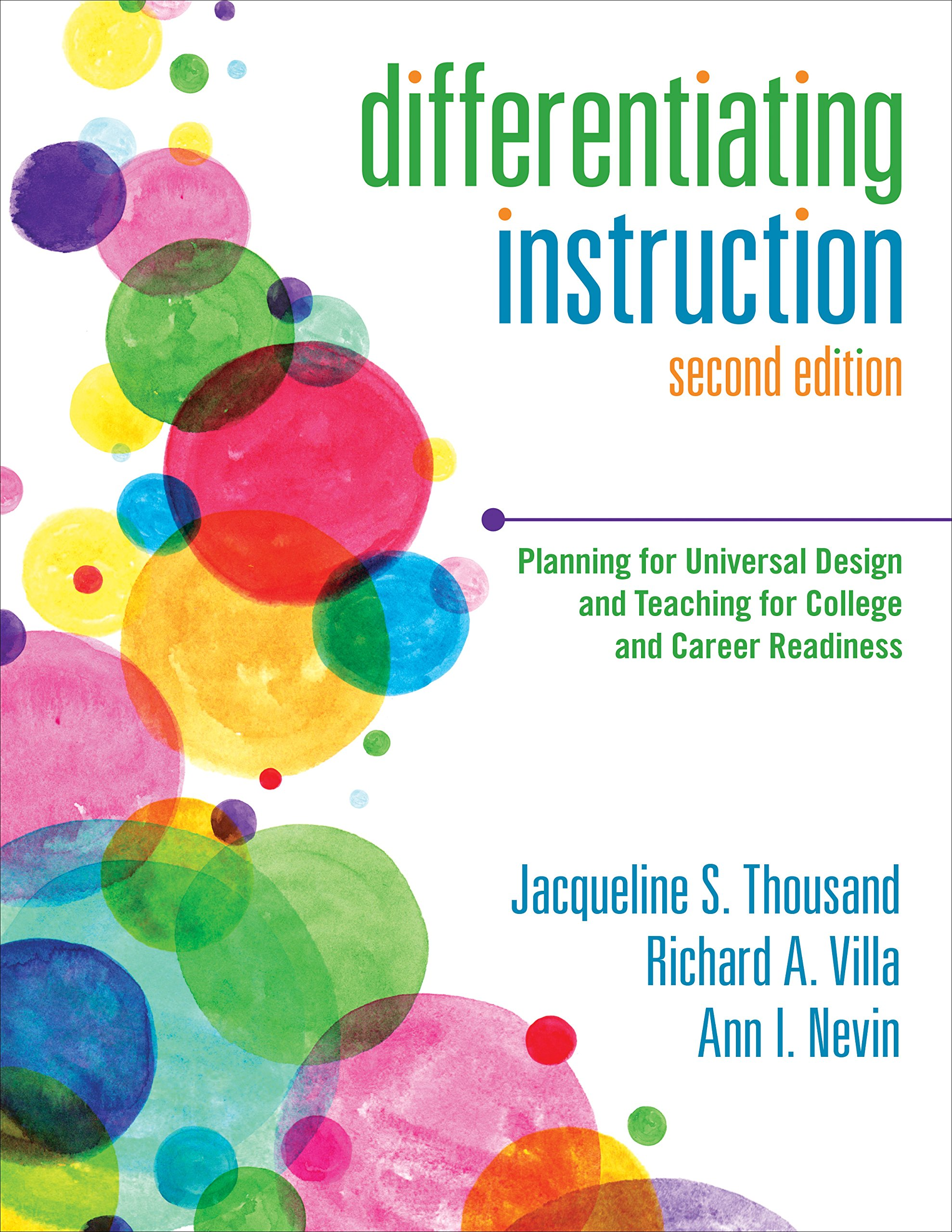 Amazon Com Differentiating Instruction Planning For Universal Design And Teaching For College And Career Readiness Ebook Thousand Jacqueline S Villa Richard A Nevin Ann I Kindle Store
