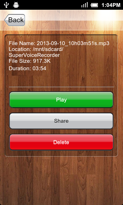 Amazon Com Voice Recorder Appstore For Android
