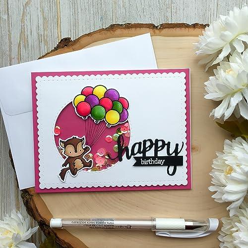 Amazon Handmade Birthday Card Shaker Card Toddler Happy