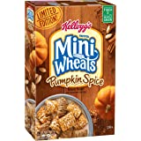 Frosted Mini-Wheats Kellogg's Cereal, Pumpkin Spice, 15.5 Ounce