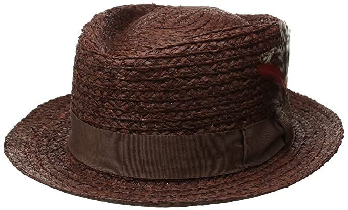 8f534560d35a10 Amazon.com: Brixton Men's Arbor Fedora: Clothing