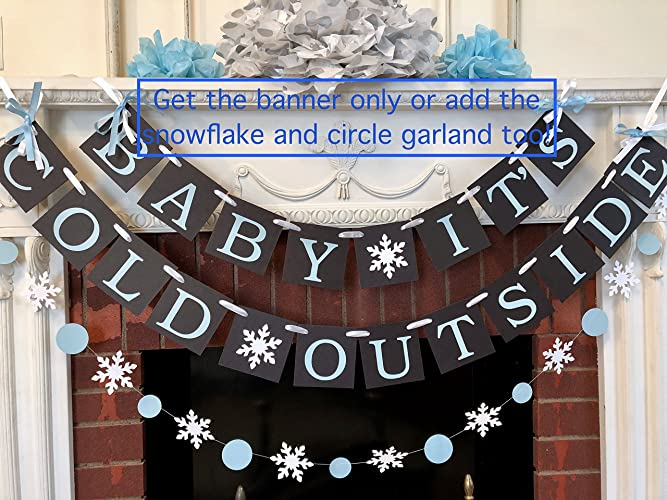 Amazoncom Baby Its Cold Outside Baby Shower Banner Winter Baby