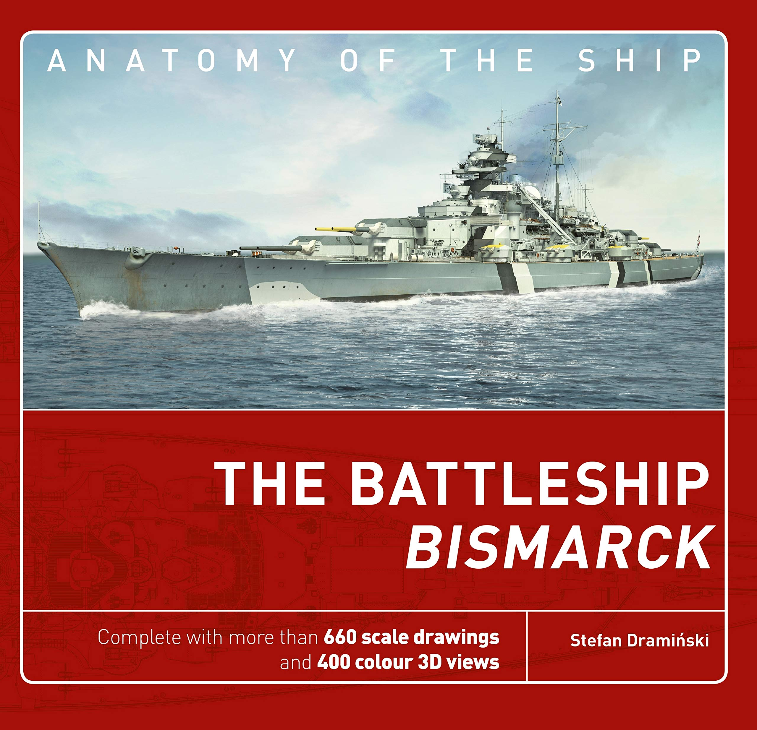 amazon the battleship bismarck anatomy of the ship stefan