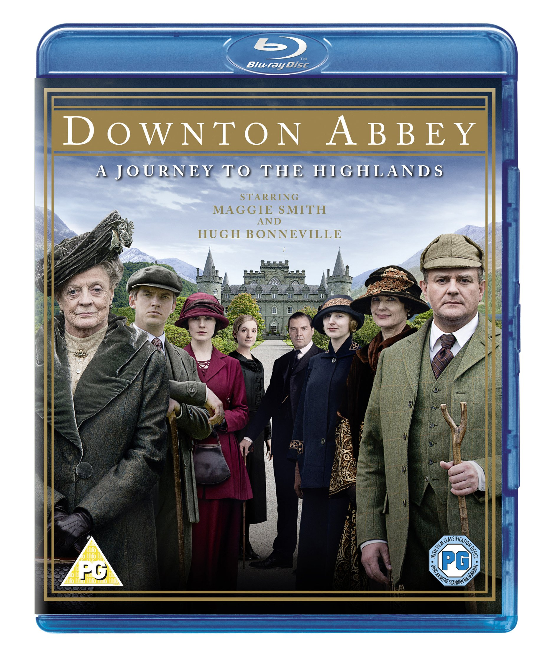 Blu-ray : Downton Abbey: A Journey To The Highlands (Blu-ray)