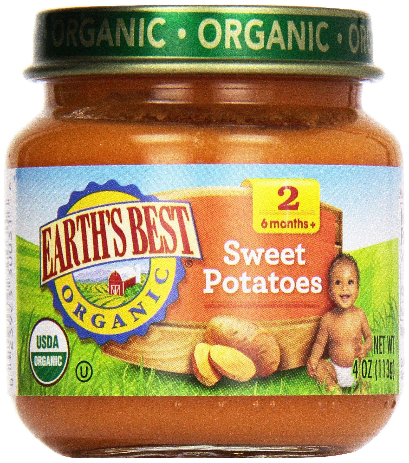 Earth's Best, Sweet Potatoes, 4 oz