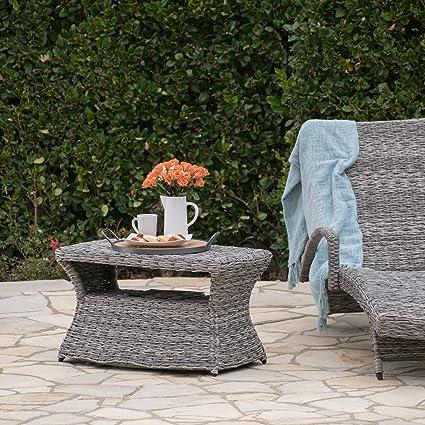 amazon com berkeley outdoor aluminum framed grey wicker chaise rh amazon com berkeley garden furniture sale berkeley garden furniture
