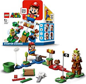 LEGO 71360 Super Mario Adventures Starter Course Toy Interactive Figure & Buildable Game