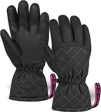 Ladies Mens Women Winter Gloves Ski Snowboard Snow Thermal Waterproof Unisex USA