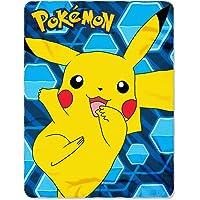 Pokémon Pikachu Fleece Throw Blanket, 45 x 60-inches