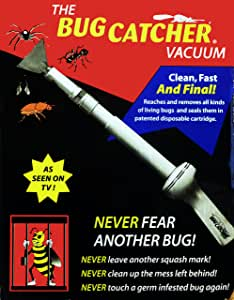 The BugCatcher Vacuum - Clean, Fast and Final!