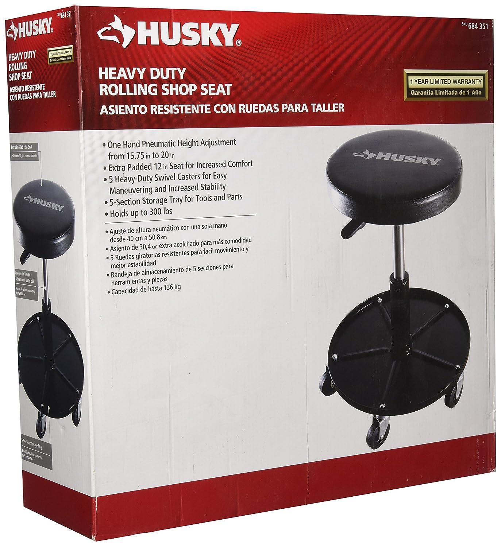 Amazon Com Heavy Duty Rolling Automotive Garage Shop Seat Stool