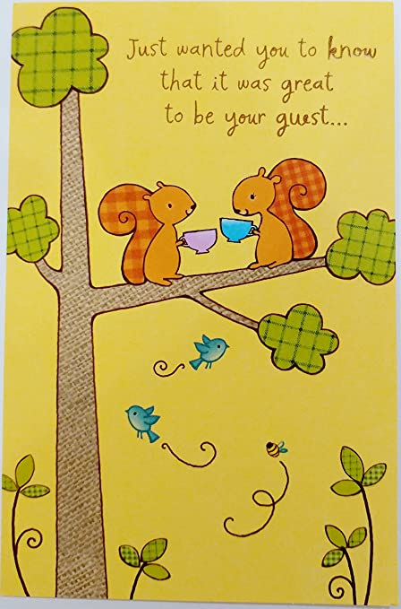 Amazon great to be your guest greeting card thank you for great to be your guest greeting card thank you for your hospitality m4hsunfo