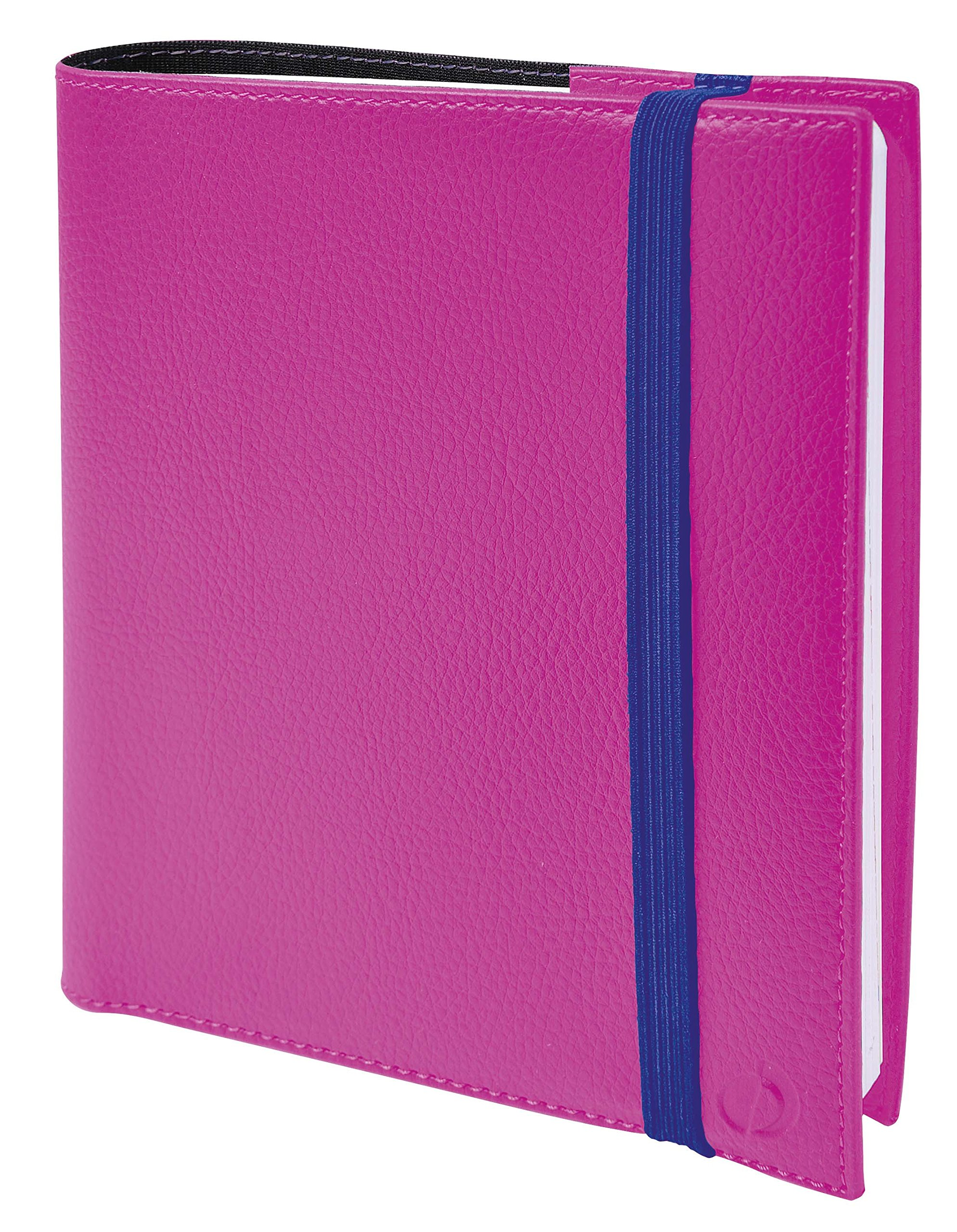 Quo Vadis Time & Life 566079q Seven Year 2018-2019Elasticated School Diary Diary 16x 16cm Pink by QUO VADIS