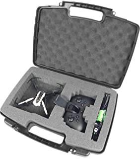 CASEMATIX Mini Drone Hard Carry Case Fits Parrot Mambo Drone , Cannon , Grabber , Parrot
