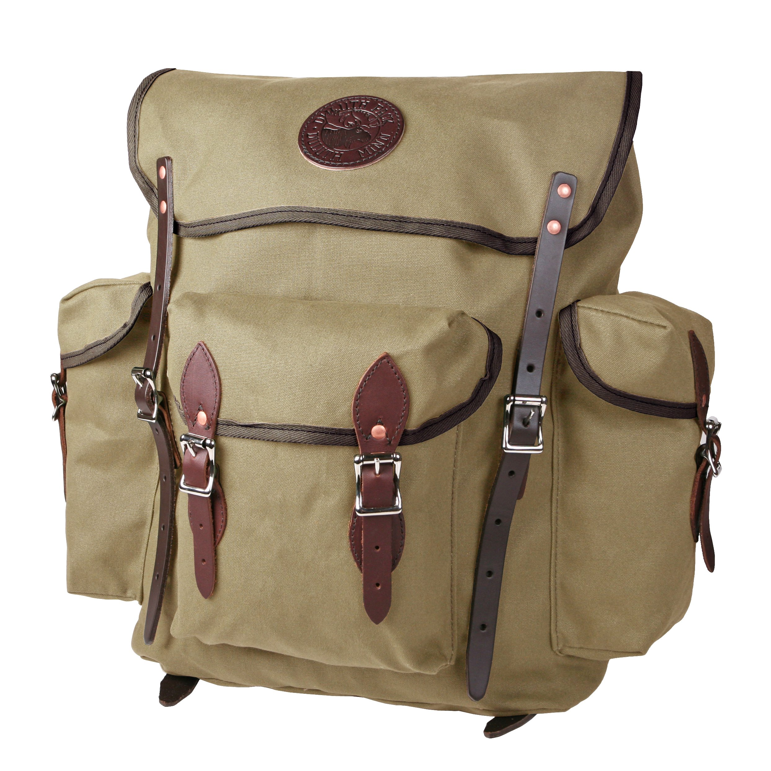 Duluth Pack Rambler Pack, Tan, 16 x 15 x 6-Inch by Duluth Pack (Image #1)