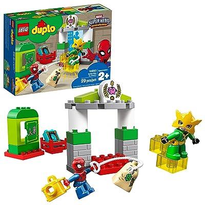 LEGO DUPLO Marvel Super Hero Adventures Spider Man vs Electro 10893 Building Blocks (29 Pieces): Toys & Games
