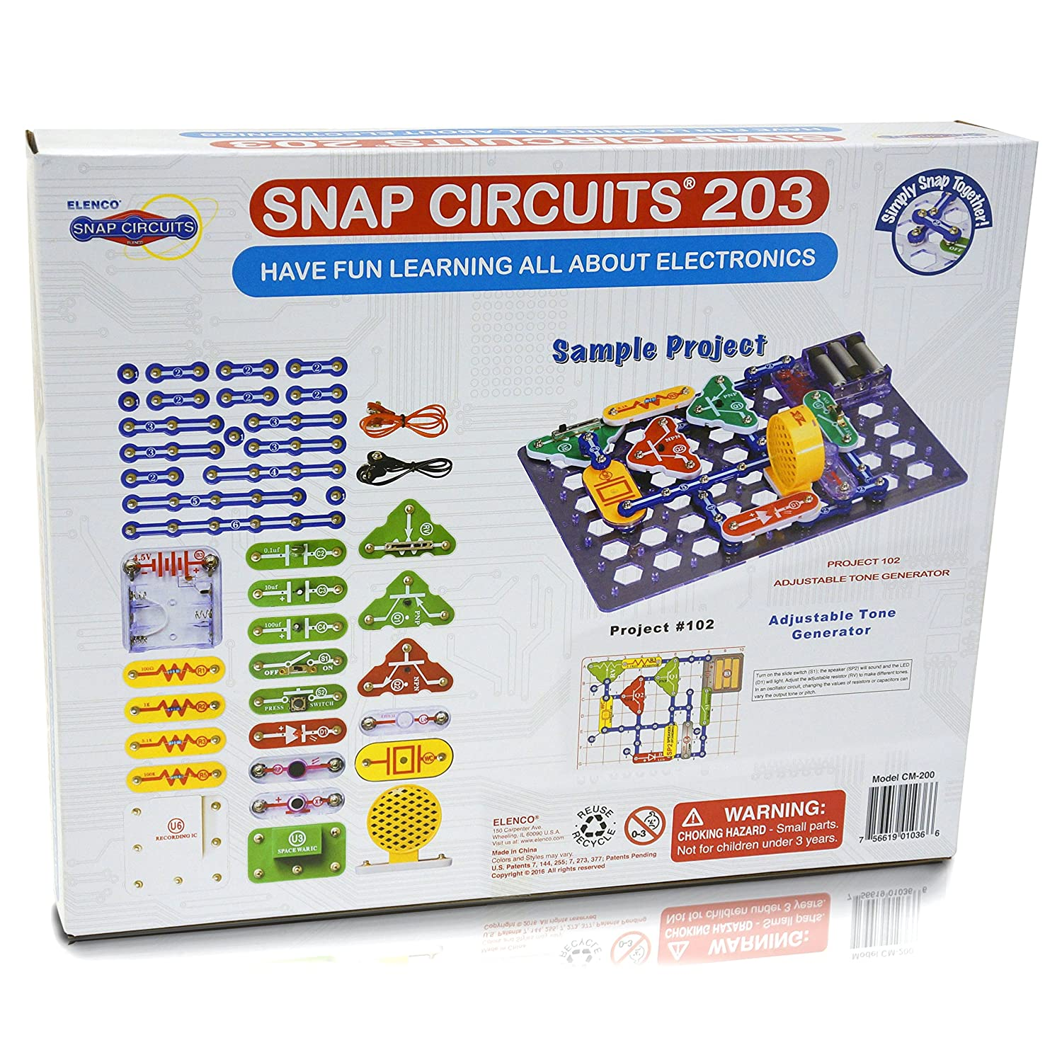 Snap Circuits Cm 200 203 Electronics Discovery Kit Kits Pro Sc500 Amazon Canada