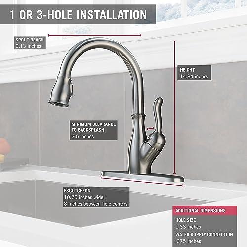 Delta Faucet 9178-AR-DST kitchen faucet review