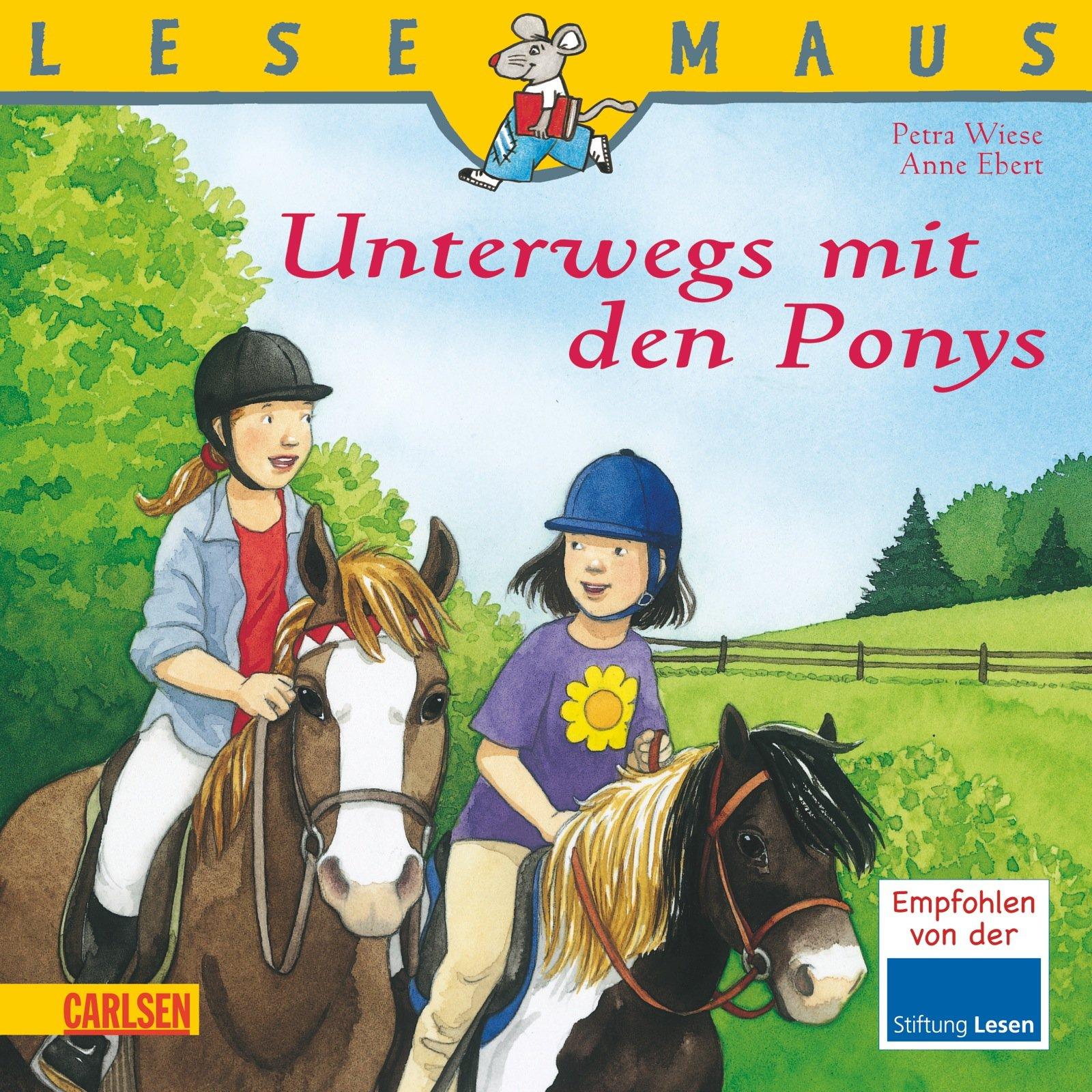 LESEMAUS, Band 37: Unterwegs mit den Ponys