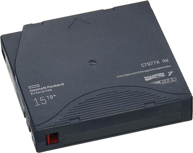 Hewlett Packard C7977A - Cinta magnética de almacenamiento de datos, color azul